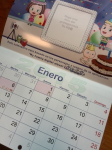 Nonabox-calendario